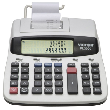 victor-pl3000-professional-prompt-logic-3-line-12-digit-display-printing-calculator