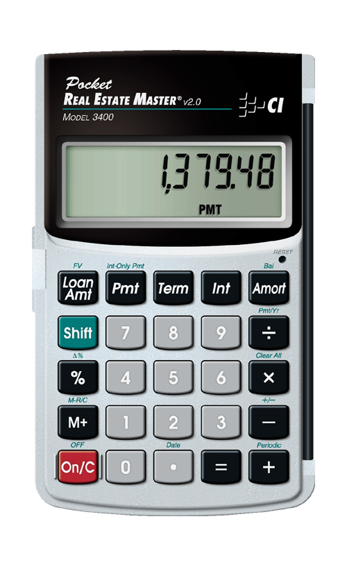 calculated-industries-pocket-real-estate-master-3400-portable-easy-to-use-loan-calculator