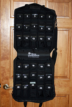 Image of Soft Hanging Case for 30 TI-84 Graphing Calculators