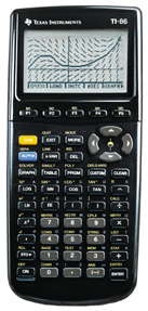 Image of Texas Instruments Used TI-86 Graphing Calculator For Engineering and Science