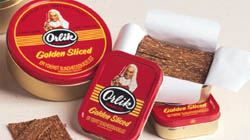 Orlik Golden Sliced Pipe Tobacco Tin