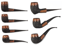 Carey Magic Inch Cool-Flame Briar Pipes