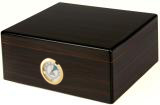 Black Walnut Rembrandt Desktop 50 Cigar Humidor