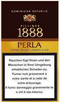 Villiger 1888 Perla Cigars: Size 4 x 40 - Box of 25