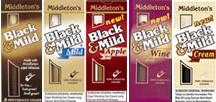 John Middleton's Black & Mild Cigars - Regular, Mild, Apple or Cream - 5 Pack