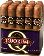 Quorum Robusto Cigars: Size 4 3/4 x 50 - Bundle of 20