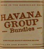 3x3 Havana Group Bundled Tubo Cigars by Davidoff
