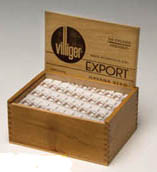 Villiger Export Cigars - Wooden Box of 50