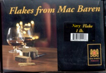 Mac Baren Navy Flake Pipe Tobacco - 1 lb Box