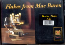Mac Baren Vanilla Flake Pipe Tobacco - 1 lb Box