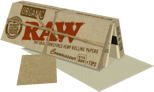 Organic Raw Connoisseur Pack Natural Unrefined Hemp Rolling Papers & Tips