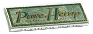 Pure Hemp Smoking Cigarette Rolling Papers - Size Regular Single Wide