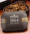 W.O. Larsen 1864 Perfect Mixture Pipe Tobacco Tin