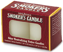 Lord Byron's Smokers Candles - 2 Votives Per Box