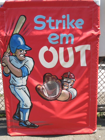 Strike 'Em Out Toss Game