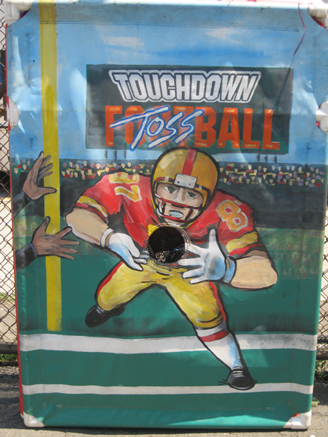 Touchdown Football Toss Game