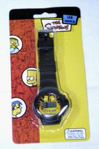 The Simpsons family LCD watch