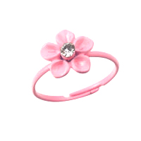 Fashion Toe Ring -Flower Toe Ring (Assorted Colors)