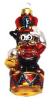 Betty Boop Ornament - Bimbo Toy Soldier Ornament 4in