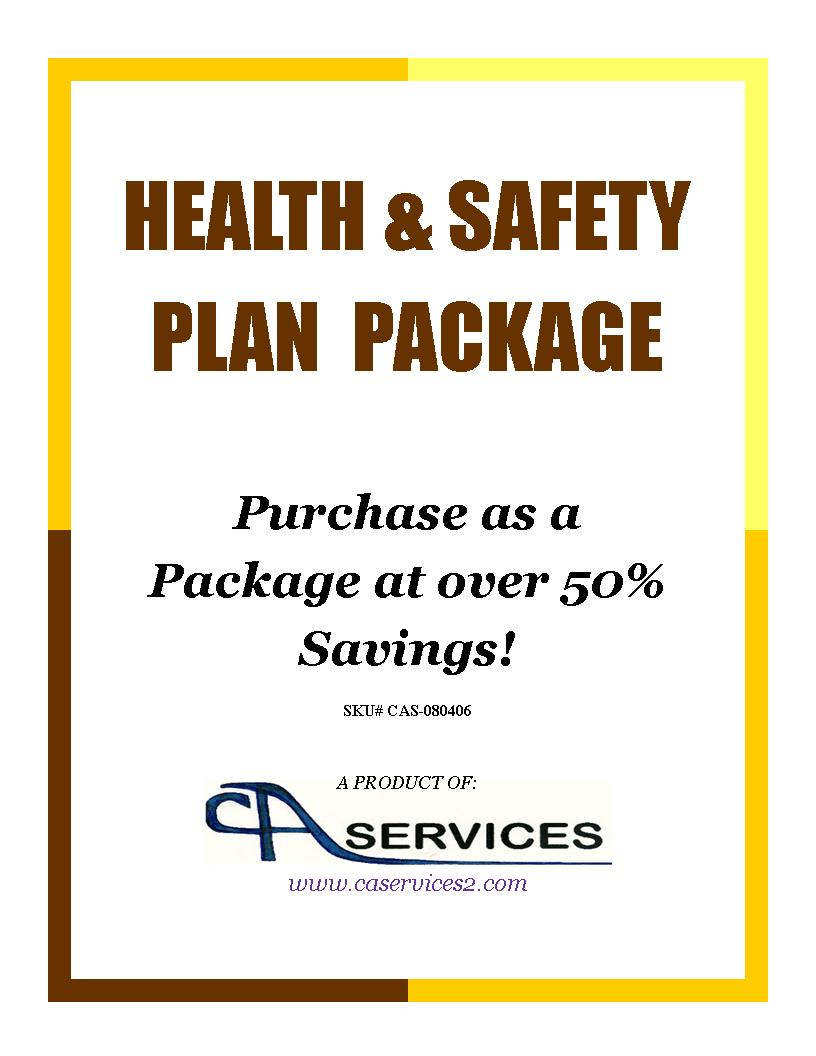 Health Safety Plan Package Deal