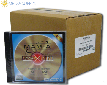 MAM-A 74m Gold Thermal in Jewel Case <br>Quantity: 5