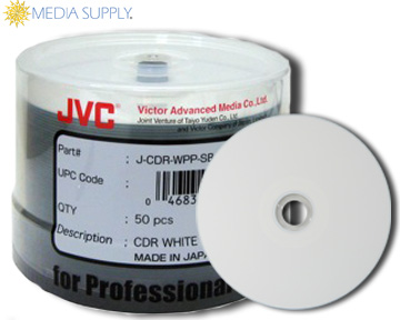 WaterShield blank media for inkjet disc printers is new from Taiyo Yuden/JVC. Unlike normal inkjet discs, WaterShield is water resistent, scratch resistant, and features a glossy finish.