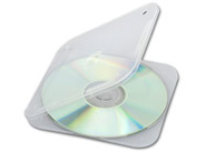Overlapping seal provides better dust protection for your data, audio, or DVD discs!