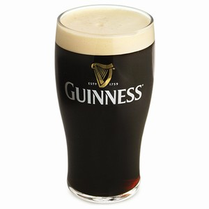20oz Guinness Word Imperial Pint Glass