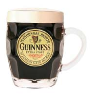 20oz Guinness Dimple Pint Glass