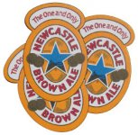 Newcastle Brown Ale Coasters