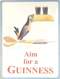 Aim for a Guinness Pub Sign