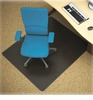 Black Non-Studded Chair Mat