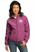 Custom Embroidered Port Authority Ladies Fleece Jacket