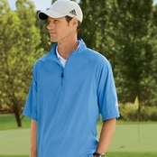 Adidas Golf ClimaProof Short-Sleeve Wind Shirt