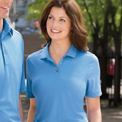 Ashworth Ladies' Performance Wicking Pique Polo