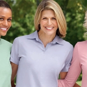 Devon & Jones Ladies' Stretch Polo Shirt