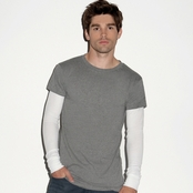Canvas Long-Sleeve 2-in-1 T-Shirt