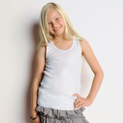 Bella Girls' 2x1 Ribbed Tank