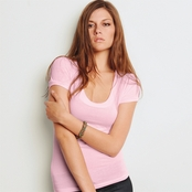 Bella Vintage Scoop Neck T-Shirt