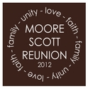 Family Reunion T-Shirt Design R1-55