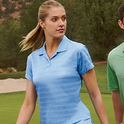 Adidas Golf Ladies' ClimaLite Textured Polo Shirt