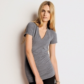 Bella Ladies' Triblend Deep V-Neck T-Shirt
