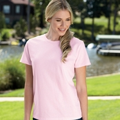 Hanes Ladies' ComfortSoft Cotton T-Shirt