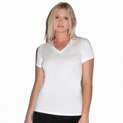 Bella Ladies' Missy V-Neck T-Shirt