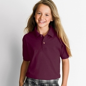 Gildan DryBlend Youth 50/50 Jersey Polo Shirt