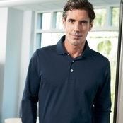 Ashworth EZ-Tech Long-Sleeve Polo