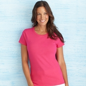 Gildan Ladies' Lightweight 100% Cotton T-Shirt