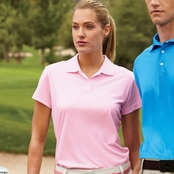 Adidas Golf Ladies' ClimaLite Pique Polo Shirt