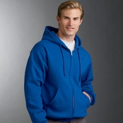 Jerzees Super Sweats 50/50 Full-Zip Hoodie
