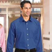 Chestnut Hill Executive Performance Shirt with Spread Collar